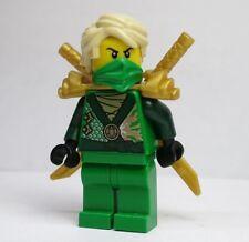 Lloyd Rebooted 70725 Armor Swords Ninjago Green Ninja LEGO Minifigure Figure