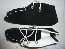 BEIYUAN Shearing Moccasins Sizes 7 - 12 Suede Leather Outer