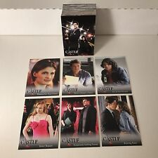 CASTLE SEASONS 1 & 2 (2013) Complete Trading Card Set NATHAN FILLION Stana Katic
