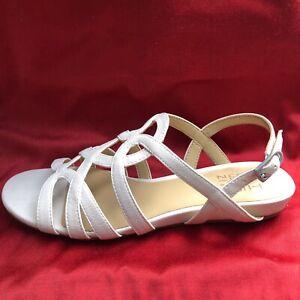 Naturalizer Raine Alabaster Sandals New In Box Size 8W G1808S1100