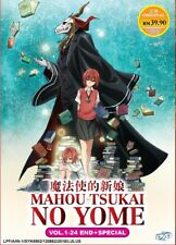 DVD Anime The Ancient Magus' Bride Complete Series (1-24 + Special) English DUB