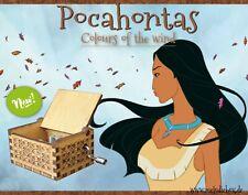Pocahontas Colors of the wind Spieluhr Musicbox Neu Fanartikel