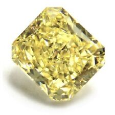 Yellow Diamond  - 1.10ct Natural Loose Fancy Yellow Canary Diamond GIA VVS2