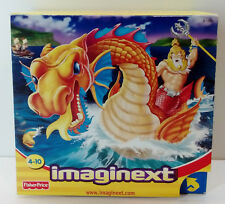 2003 FISHER PRICE IMAGINEXT KING NEPTUNE & SEA MONSTER BRAND NEW MIB MISB SEALED