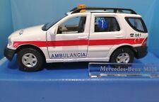 Mercedes Benz Ml320 Ambulance sauvetage 061 Rettung Espagne M1 43 Hongwell