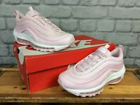 NIKE AIR MAX 97 SUBTLE PINK BULLET TRAINERS CHILDRENS LADIES RRP £95 MANY SIZES