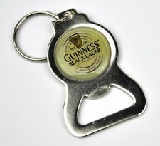 GUINNESS BLACK LAGER BEER BOTTLE OPENER KEY CHAIN