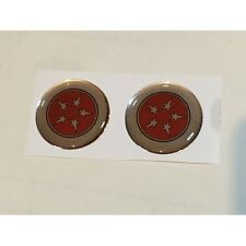 Ford Anglia 105E....... Pillar Badges Self Adhesive (Pair) no Writing