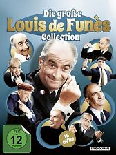 16 DVDs * DIE GROSSE LOUIS DE FUN�ˆS COLLECTION - Louis de Funes # NEU OVP /