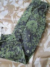 DANCAM Danish DPM sas style TROUSERS CAMO army BDU M84 mtp bushcraft W32 small