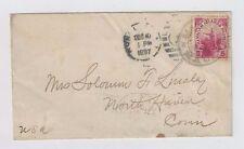 1897 Hamakuapoku Maui Hawaii to North Haven Connecticut