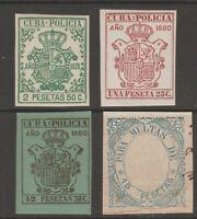 Spain Colonies Antilles revenue fiscal Stamp  - mx-179b