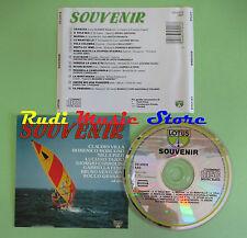 CD SOUVENIR compilation 1990 CLAUDIO VILLA NILLA PIZZI DOMENICO MODUGNO (C9)