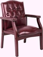 Ivy League Executive Guest Chair Home Office Furniture Sturdy Comfort Boss Seat