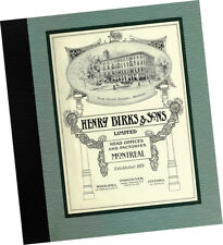 Henry Birks + Sons 1914 Fine Jewelry + Gifts CATALOG Classic Art Deco Designs