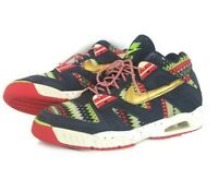 Nike Air Tech Challenge 3qs Ugly Christmas Sweater Mens Sneakers  Sz 8