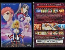 Fate/Stay Night: TV Complete Collection (Brand New 4 DVD Anime Set)
