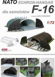 *Hardened Aircraft Shelter NATO* 1:72 scale model kit (lasercut set)