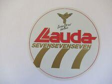 alte Aufkleber : Lauda SEVENSEVENSEVEN - alte Werbung - Reklame