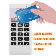 Handheld IC ID Card Reader Writer Copier Keyfobs Duplicator 125Khz 13.56MHZ