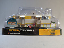 WOODLAND SCENICS SUNNY DAYS TRAILER BUILT & READY O GAUGE park BR 5863 NEW