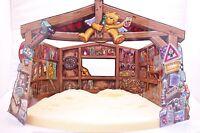 bad taste bear*Nativity Set Base and Display  Board* retired