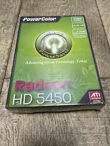 PowerColor ATI Radeon HD 5450 Up To2.3GB Hyper Memory New Sealed Box