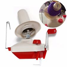 Hand Operated Swift Yarn Fiber Wool String Roll Ball Thread Skein Winder Machine