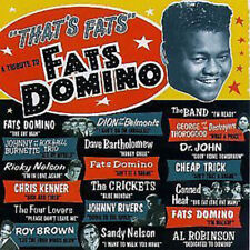THAT'S FATS: A TRIBUTE TO FATS DOMINO { } - V/A - CD  case broken