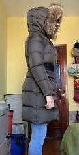 Womens Parajumpers Coat brown Size Small used High fill power down Retail $995