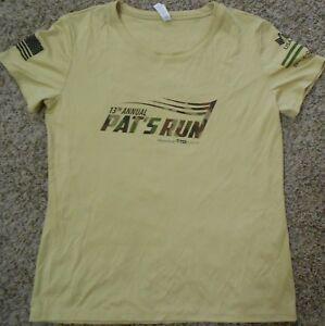 Pat's Run 2017 Race Tek T-Shirt - Womens XL - Camo ASU Pat Tillman