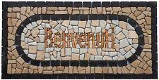 ''EUGENIA'' mosaici mosaico in marmo rosone benvenuti fatto a mano su rete 60x30