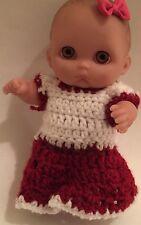 Berenguer doll Hand Made Crocheted Attire