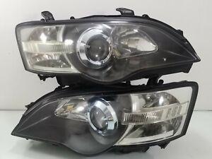JDM Subaru Liberty BPE BP5 BL5 Outback Legacy HID Headlight Lamp 03-06 BP BL SET