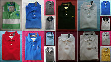 NWT Abercrombie & Fitch Rugby Polo T Shirt Mens Various Color Size S&M&L&XL