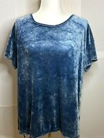 Green Tea Women's Light Blue Valour T Shirt Size XXL