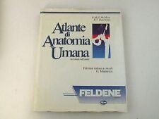 ATLANTE DI ANATOMIA UMANA - MCMINN, HUTCHINGS - LIBRO - PHZER 1992 - BUONO - L7