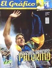 MARTIN PALERMO Last Match BOCA JUNIORS 2012 SPECIAL Magazine + POSTER
