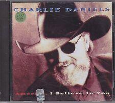 CHARLIE DANIELS - america i believe in you CD