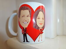 Personalised LOVE COUPLE CARICATURE MUG made by cartoonising photos of you.