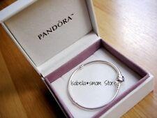 "NEW Authentic PANDORA Charm/Beads Sterling SILVER ALE 925 Bracelet 9.1"" 23cm"