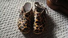 NEW HANNA ANDERSSON 32 LEOPARD CHEETAH CLOGS SHOES 1