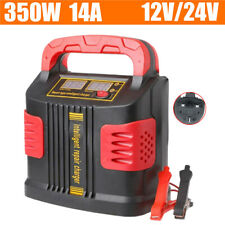 350W Heavy Duty Smart Car Battery Charger Pulse Repair 12V 24V 3-stage charging