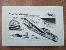 "maquette avion LUFTWAFFE  PLANET MODELS ZEPPELIN ""RAMMER""  German Project 1/48"