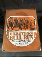 SPI Simulations Publication Vintage-The Battles Of BULL RUN- War Strategy  -1973