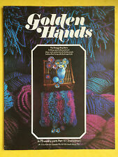 Golden Hands - Part 10, Crochet, Knitting, Dressmaking, Embroidery, Magazine