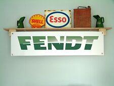 FENDT Tractors banner workshop Tractor shed pvc sign Vario, Xylon, Favorite