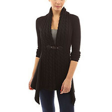 Women's Long Sleeve Knitted Cardigan Casual Sweater Tops Inrregural Coat Outwear