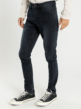 New Lee Mens Z Two Jeans In Marauder Black Denim Jeans Slim Tapered Jeans