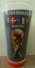 Coca Cola Becher FIFA World Cup Russia 2018 Frankreich Argentinien Match 50